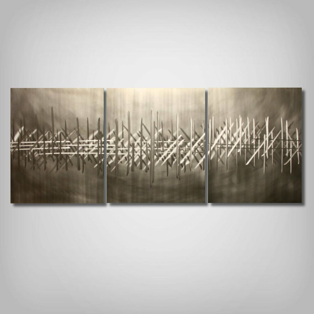 Abstract modern metal wall sculpture contemporary art for Bronze wall art