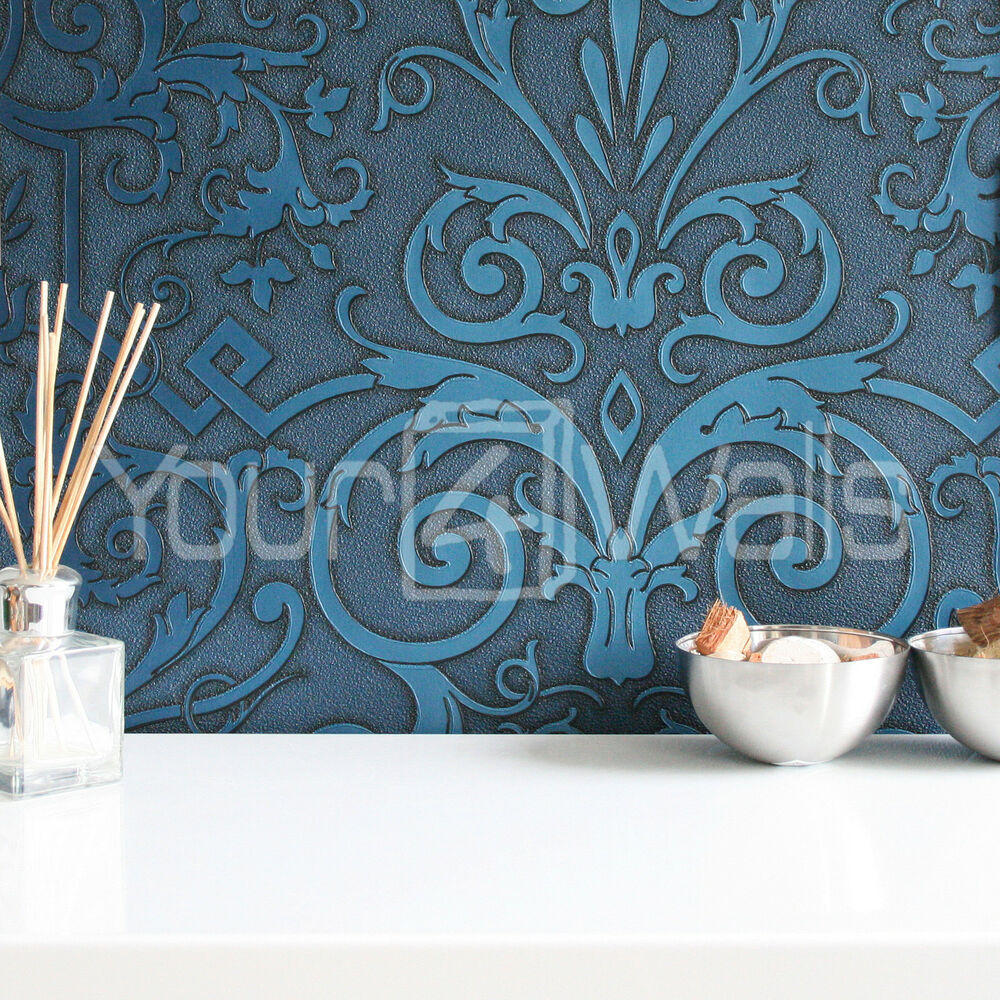 Sale stunning versace 39 damask 39 designer luxury motif for Designer wallpaper sale