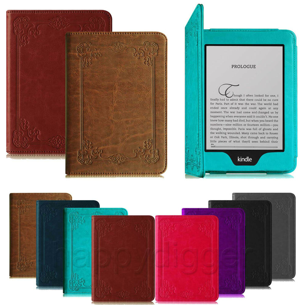 "For Amazon Kindle Paperwhite 6"" Folio Book Style Leather"
