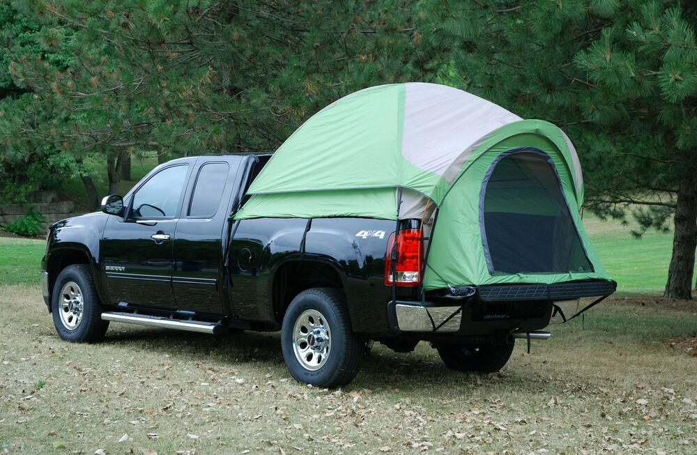 napier backroadz full long bed truck tent ford chevy dodge 2 person man camping ebay. Black Bedroom Furniture Sets. Home Design Ideas