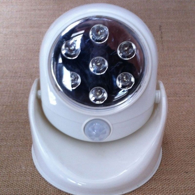 Wireless Motion Activated Detector Auto Sensor Led Light