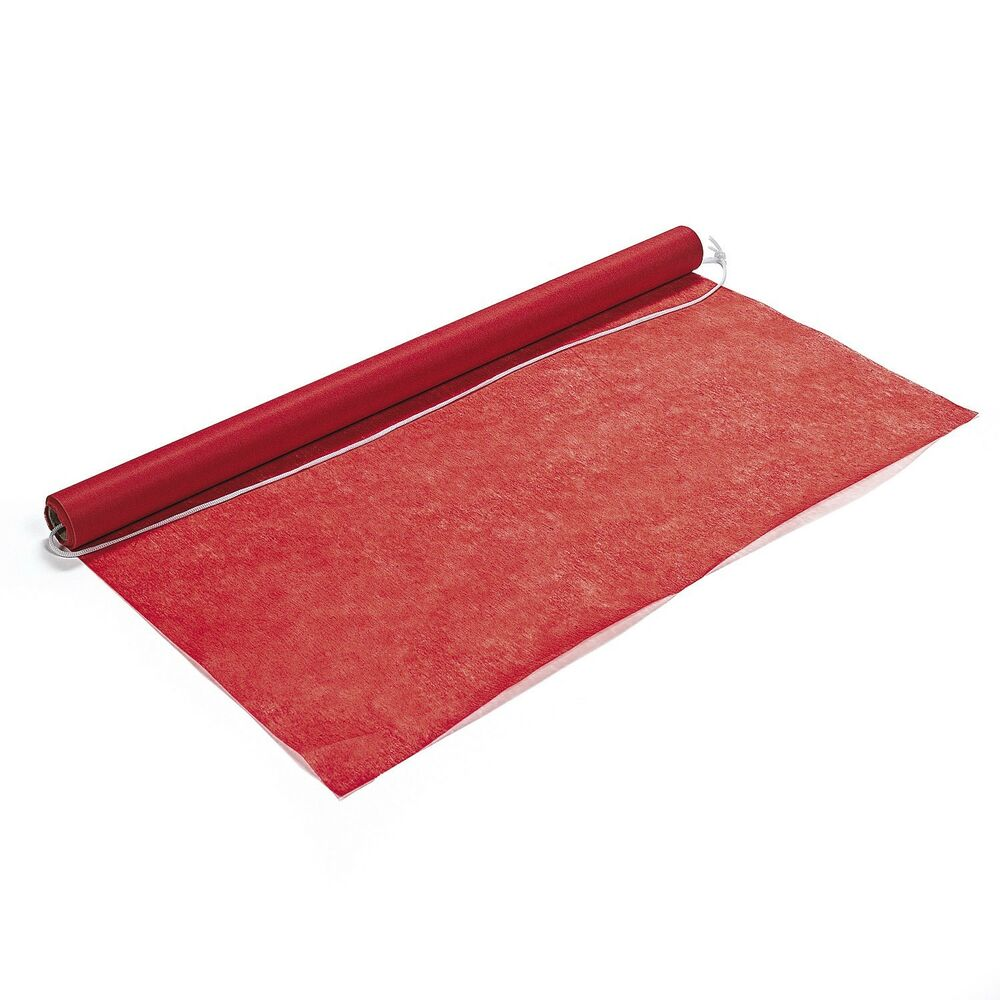 Red carpet runner for party