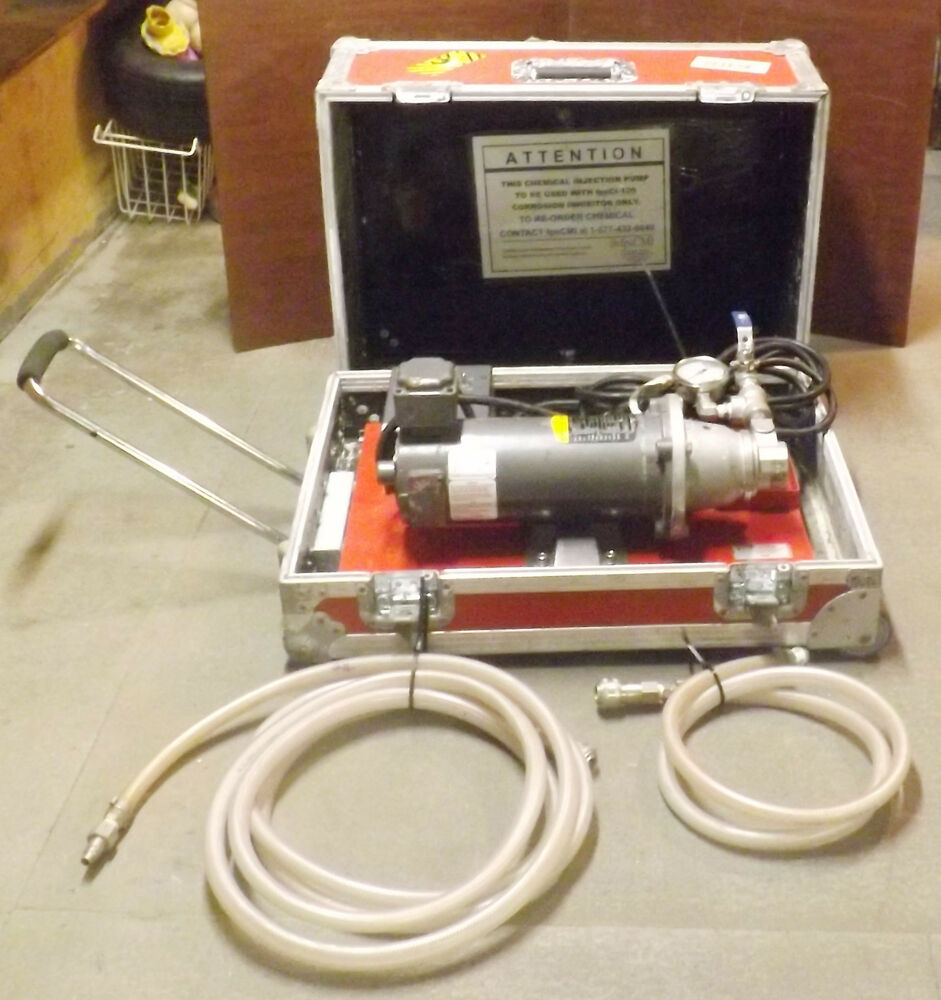 Chemical Injection Pump With Baldor Cdp3330 Kbmd 240d