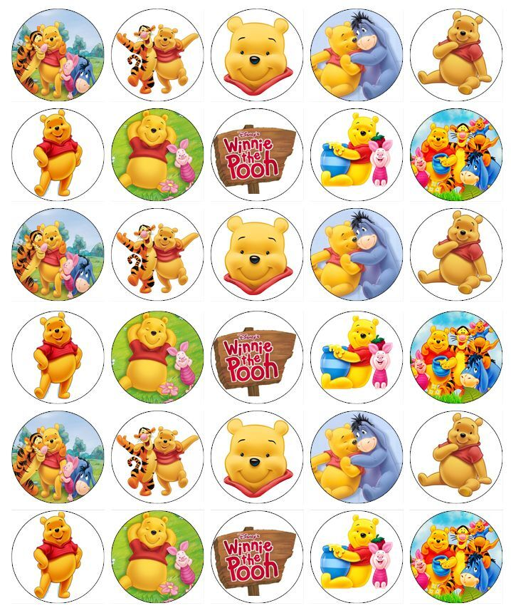 Winnie The Pooh Edible Cake Decorations