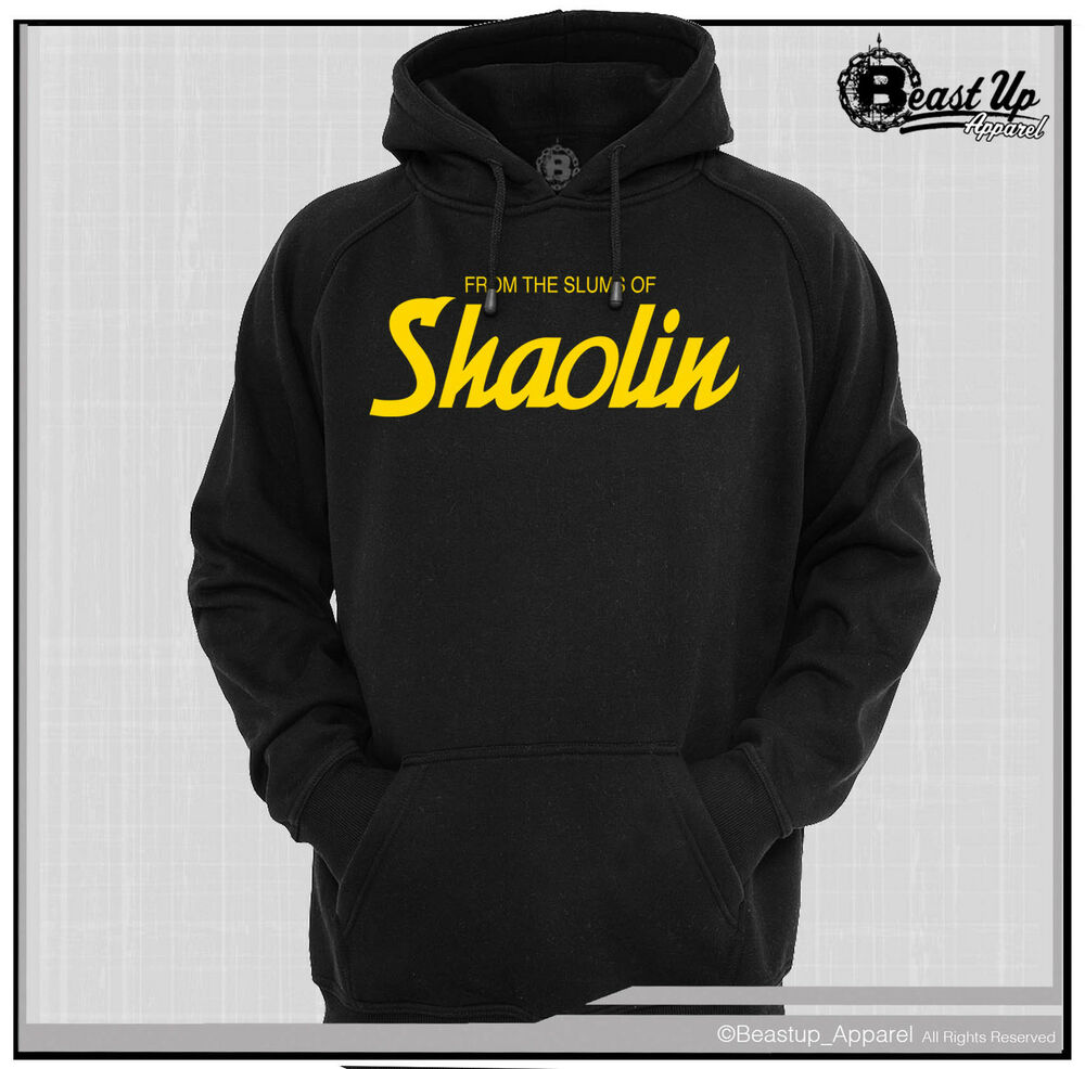 wu tang clan from the slums of shaolin hoodie hoody. Black Bedroom Furniture Sets. Home Design Ideas