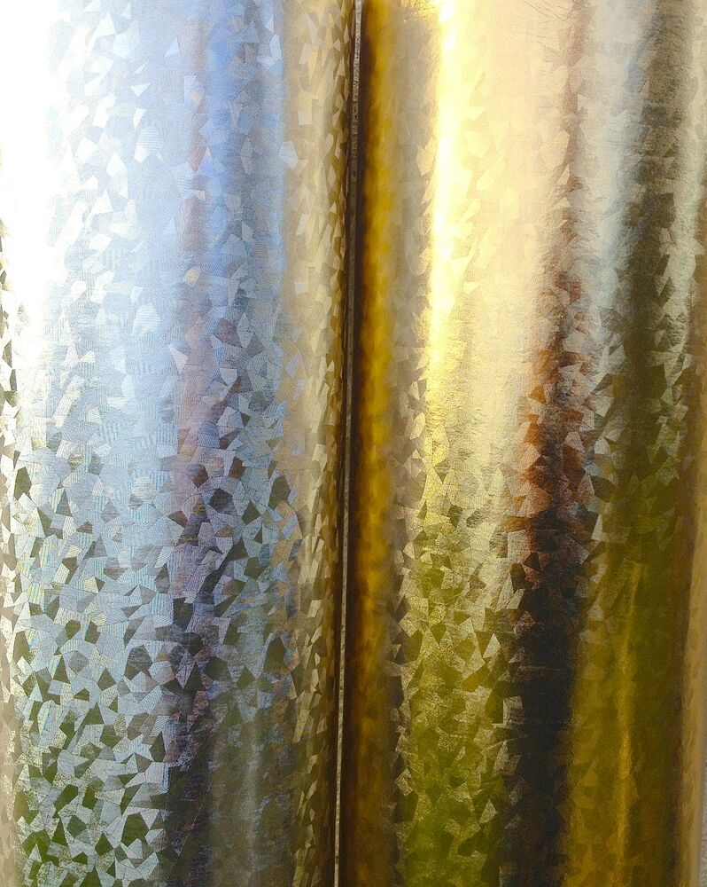 Pvc Oilcloth Vinyl Tablecloth Silver Or Gold Metallic