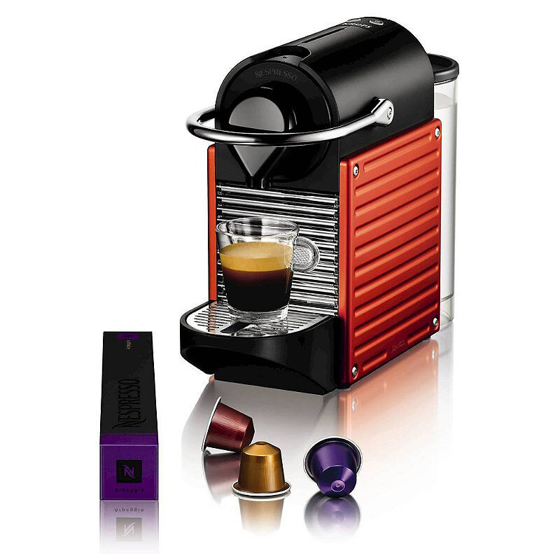 krups nespresso xn3006 pixie coffee machine electric red. Black Bedroom Furniture Sets. Home Design Ideas