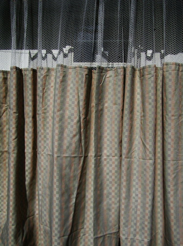 Lot Of 4 Pattern D Hospital Privacy Cubicle Curtains Flame Retardant Ebay