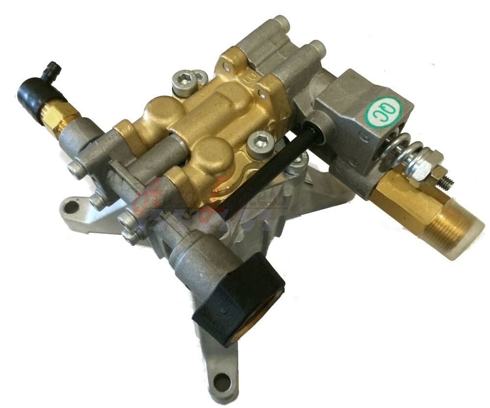 3100 Psi Power Pressure Washer Water Pump Upgraded Water