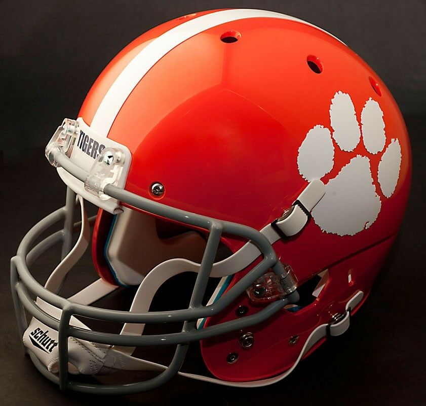 Schutt TIGERS  1975-1976 Authentic GAMEDAY XP CLEMSON AiR