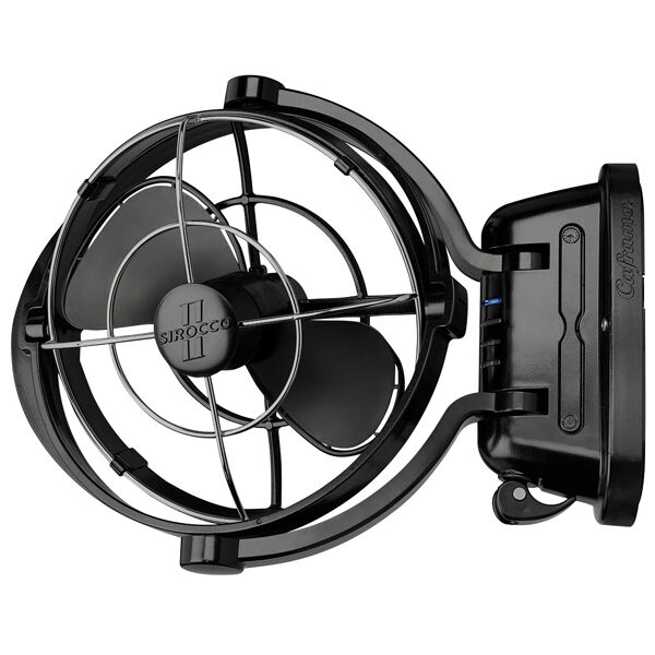12 Volt Fans For Rv : Fan caframo sirocco ii volt black caravan boat rv
