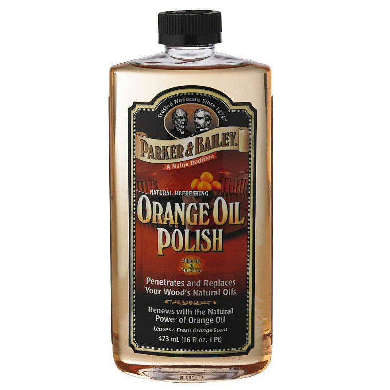 Parker Bailey Orange Oil Wooden Furniture Polish 473ml Ebay