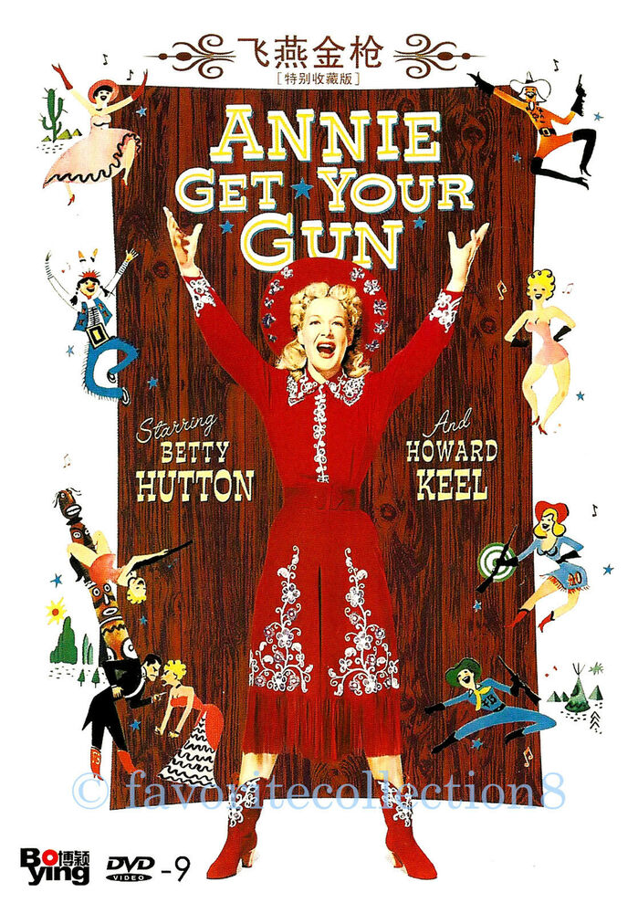 Annie Get Your Gun (1950) - Betty Hutton, Howard Keel ...