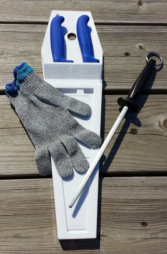 Meat Cutter S Combo Pack Knife Scabbard Cut Glove And