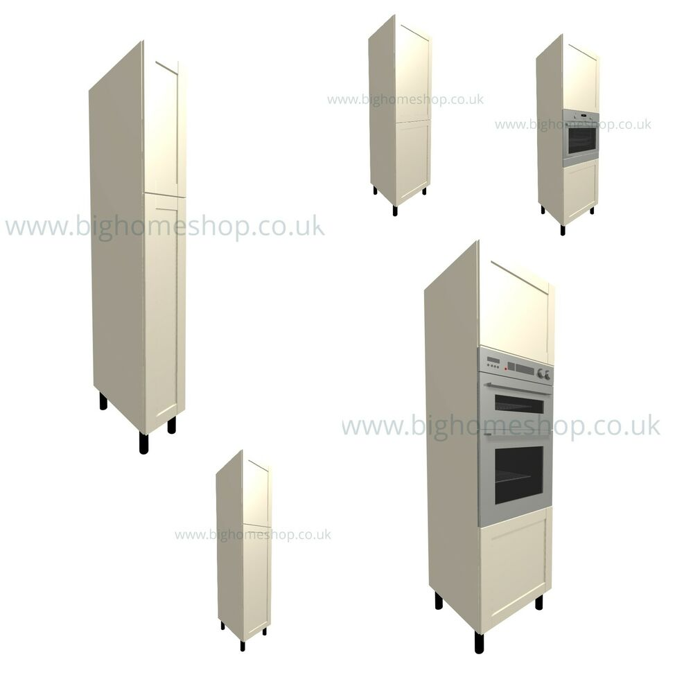 Fitted Kitchen Units Design Specialists: Fitted Kitchen Unit: Housing And Larder Units With Cream