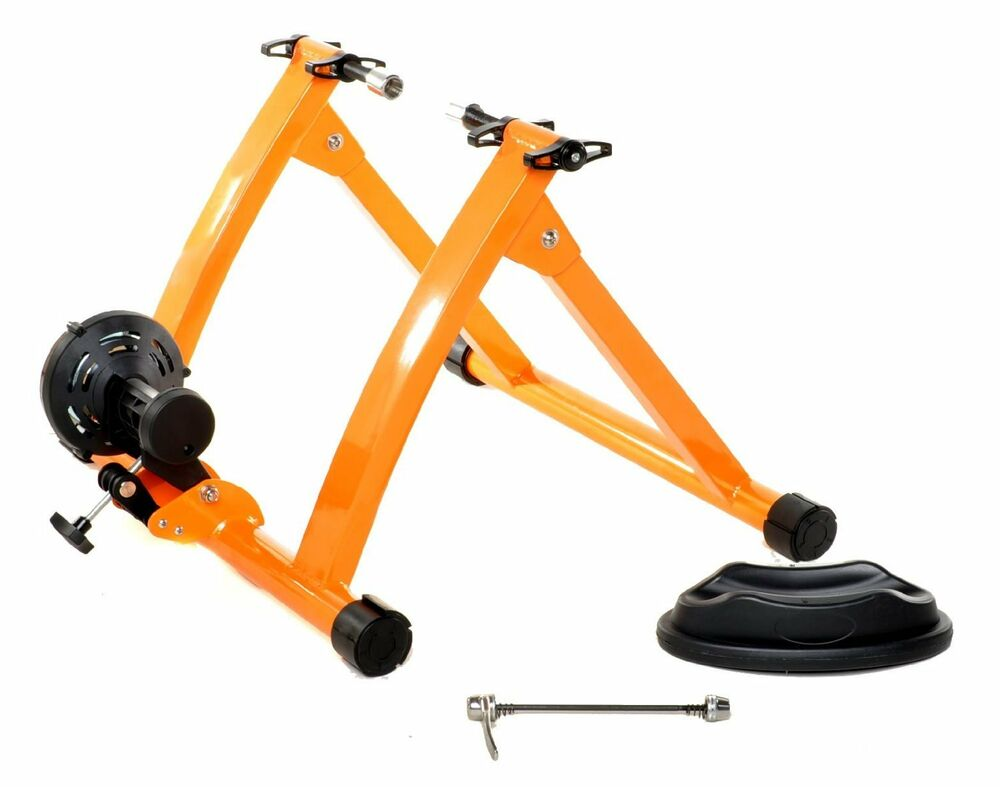 New Indoor Bicycle Cycling Trainer Exercise Stand Ebay