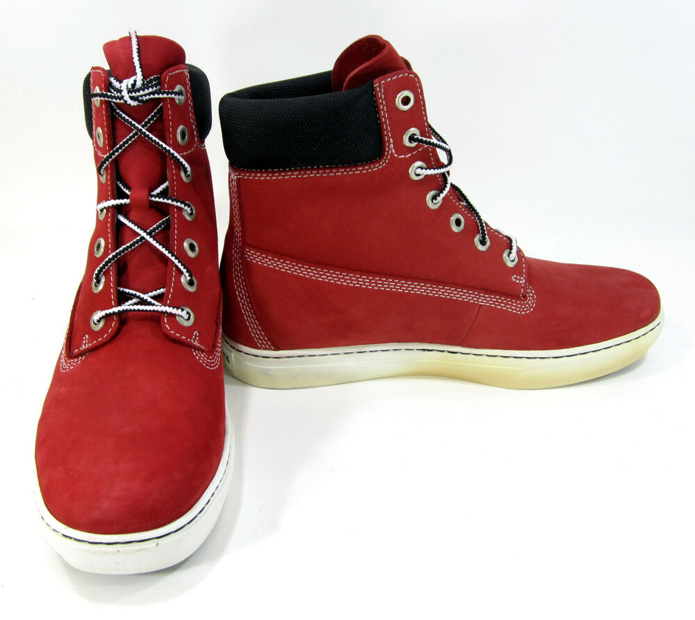 Timberland Shoes 6 Inch Premium Earthkeepers Red Boots ...