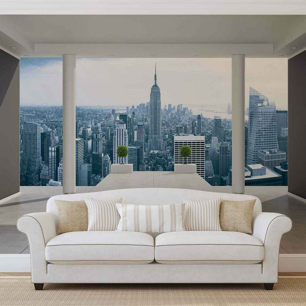 vlies fototapete fototapeten wandbild bild tapete 1323ve new york stadt ebay. Black Bedroom Furniture Sets. Home Design Ideas