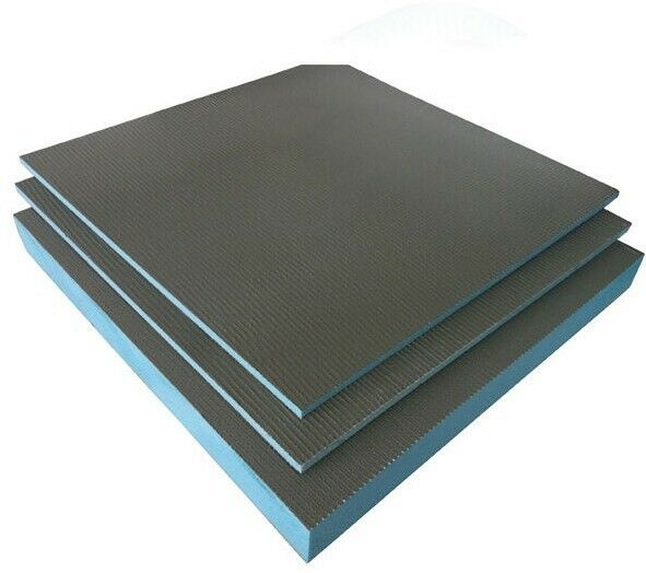 Tile backer board mm cement coated for insulation with