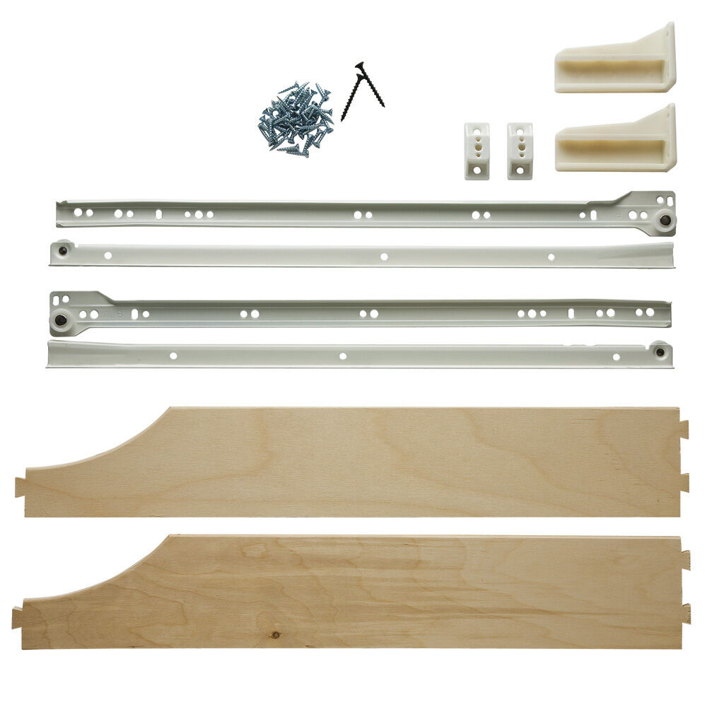 "22"" Slide/Hardware Kit for Kitchen Pull-Out Shelf Kit 