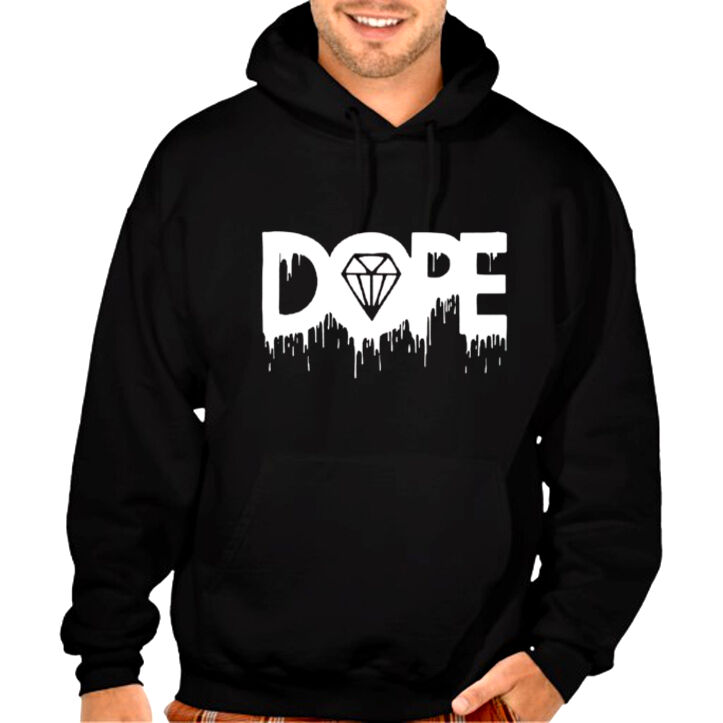 new melting diamond dope hoodie cali ca swag hip hop rap