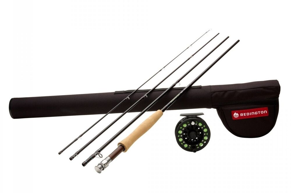 Redington path 9 39 8 wt 4 piece fly fishing combo ebay for Fly fishing combo kit