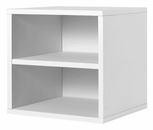 Foremost 327301 modular shelf cube storage system white for Foremost modular homes