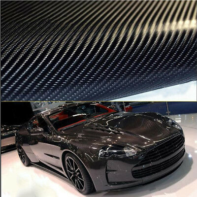High Quality 3D 4D Gloss Car Carbon Fiber Vinyl Wrap Sticker Film Roll Air Free
