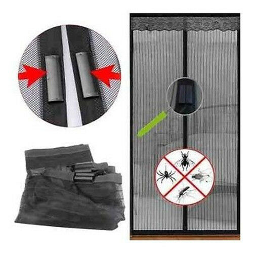 ... Mesh Net Screen Door Magnetic Anti Mosquito Bug Doors Curtain | eBay