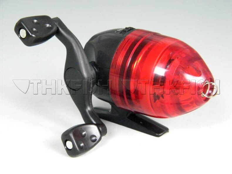 Mini red spin cast casting reels spincast fishing reel for Best fishing line for spinning reels