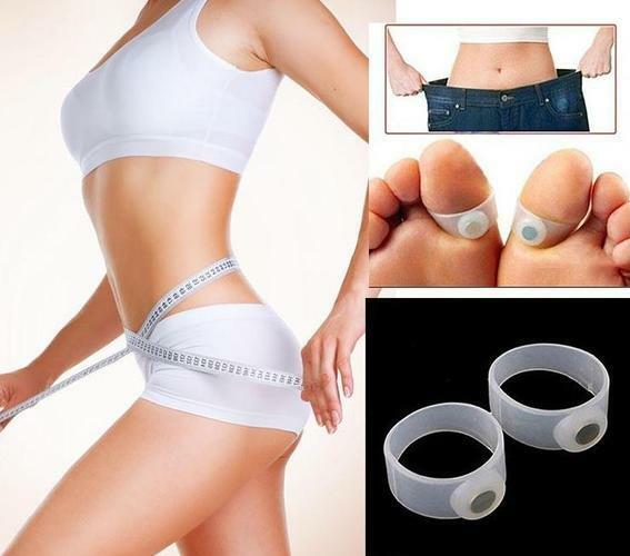 Magnetic Toe Ring For Weight Loss  Pair