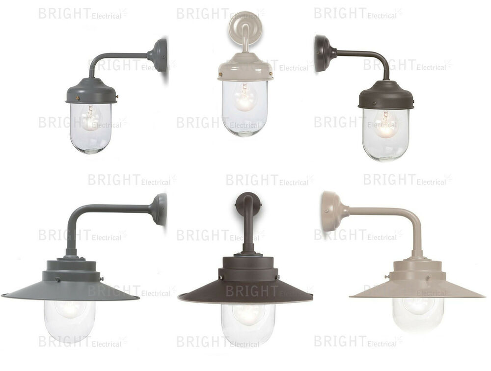 Outdoor Garden Wall Lights Lantern Barn Light Belfast Light By Garden Trading eBay