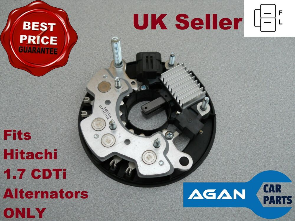 ark108 alternator repair kit vauxhall opel astra astravan h meriva a 1 7 cdti ebay. Black Bedroom Furniture Sets. Home Design Ideas