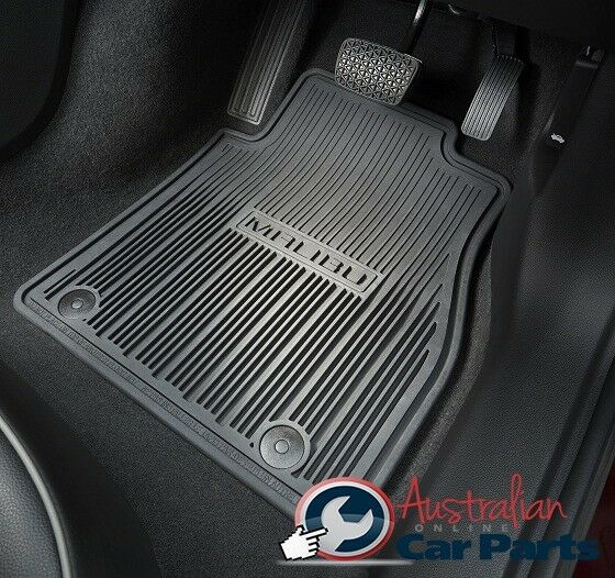 holden malibu rubber floor mats brand new genuine 2013. Black Bedroom Furniture Sets. Home Design Ideas