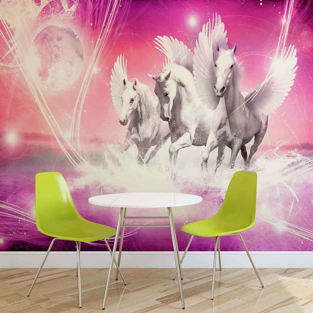 horse wall stickers ebay wall mural photo wallpaper picture 589pp horses girls bedroom