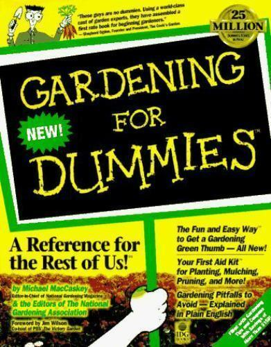 Gardening for dummies for dummies series 1568846444 ebay for Landscaping for dummies