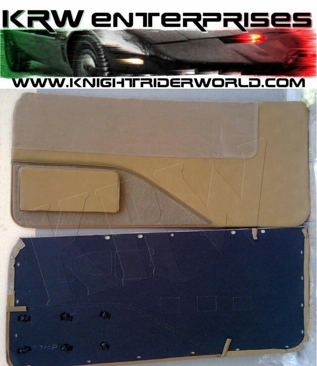 1982 1992 Pontiac Firebird Knight Rider Kitt Karr K2000 Door Panels Map Pocket Ebay