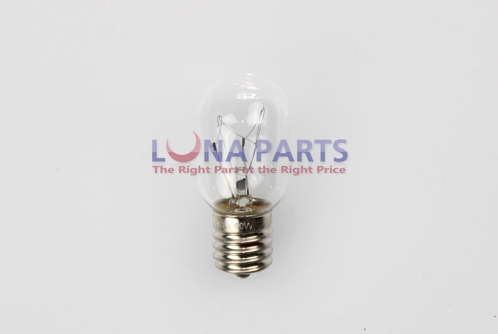 genuine oem whirlpool light bulb 8206232a 40 watt 8206232 26qbp4093. Black Bedroom Furniture Sets. Home Design Ideas