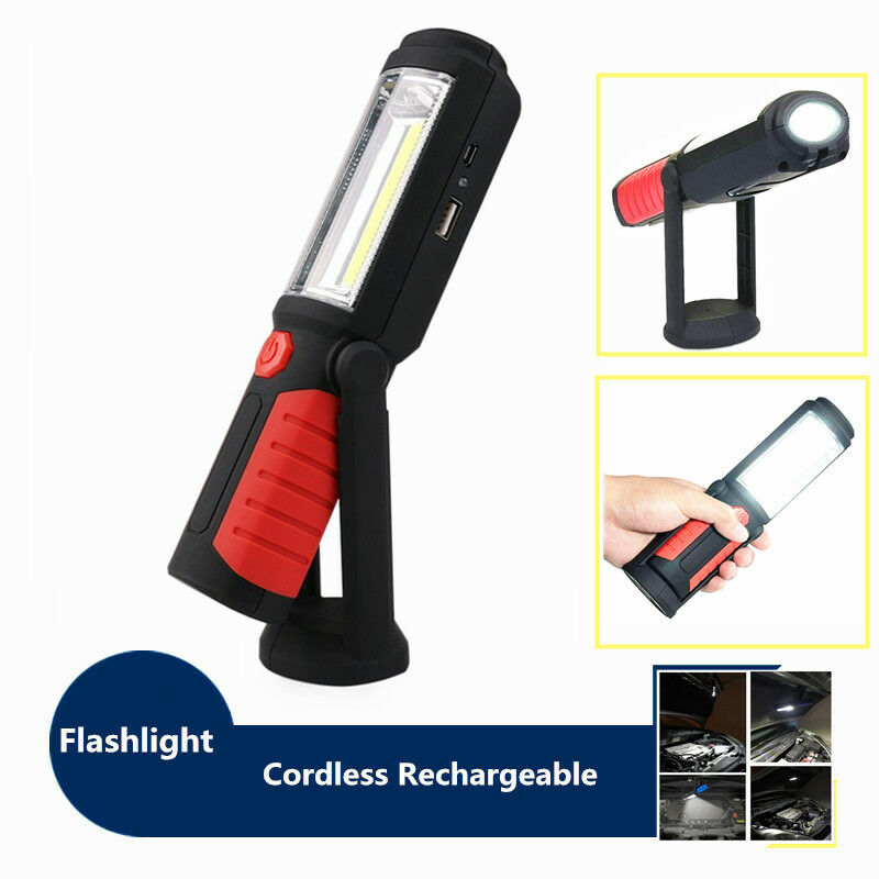 60 Led Rechargeable Cordless Work Light Garage Inspection: 1Set Rechargeable Portable Hand Held Cordless Inspection