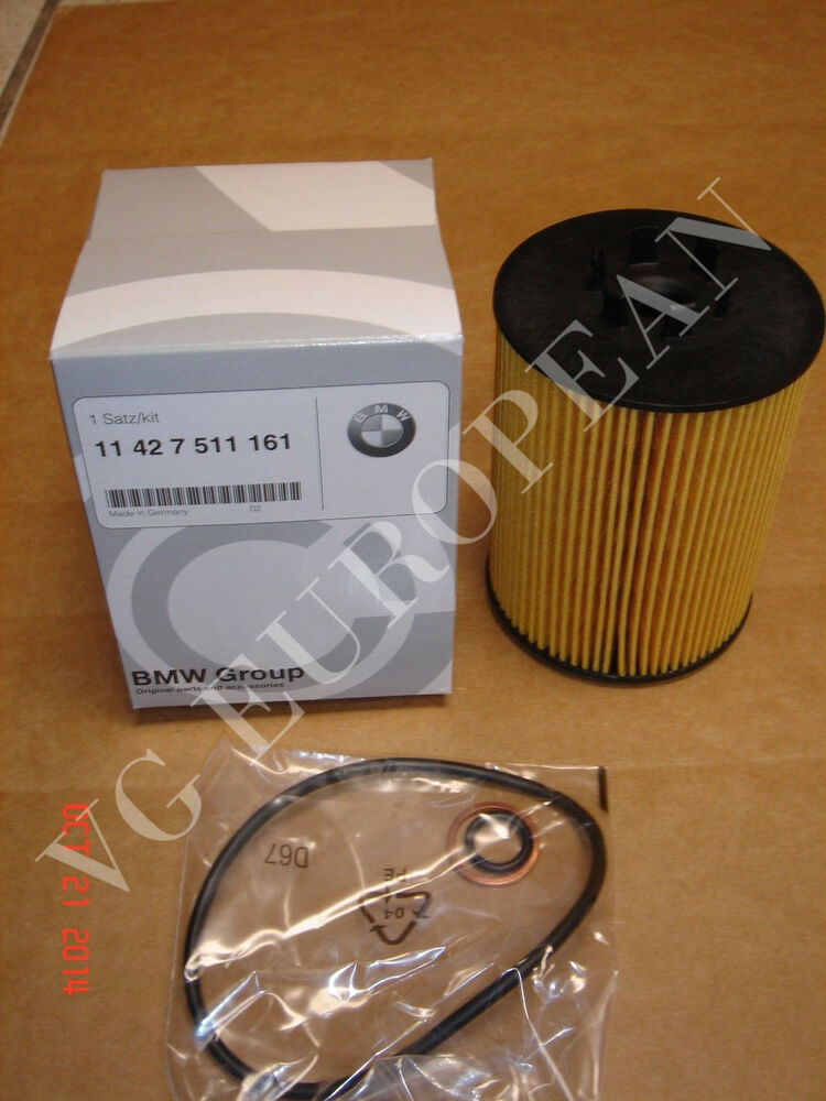 Bmw E53 X5 E65 E66 Genuine Engine Oil Filter