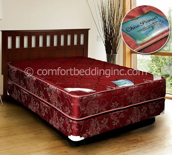 Chiro Premier Orthopedic Red Soft Version Queen Size