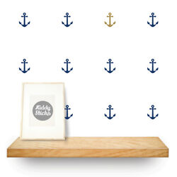 Anchor Wall Stickers 2 Sizes & 15 Colours Available UK seller Free P&P