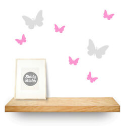 Butterfly Wall Stickers 2 Sizes & 15 Colours Available: UK seller  Free P&P