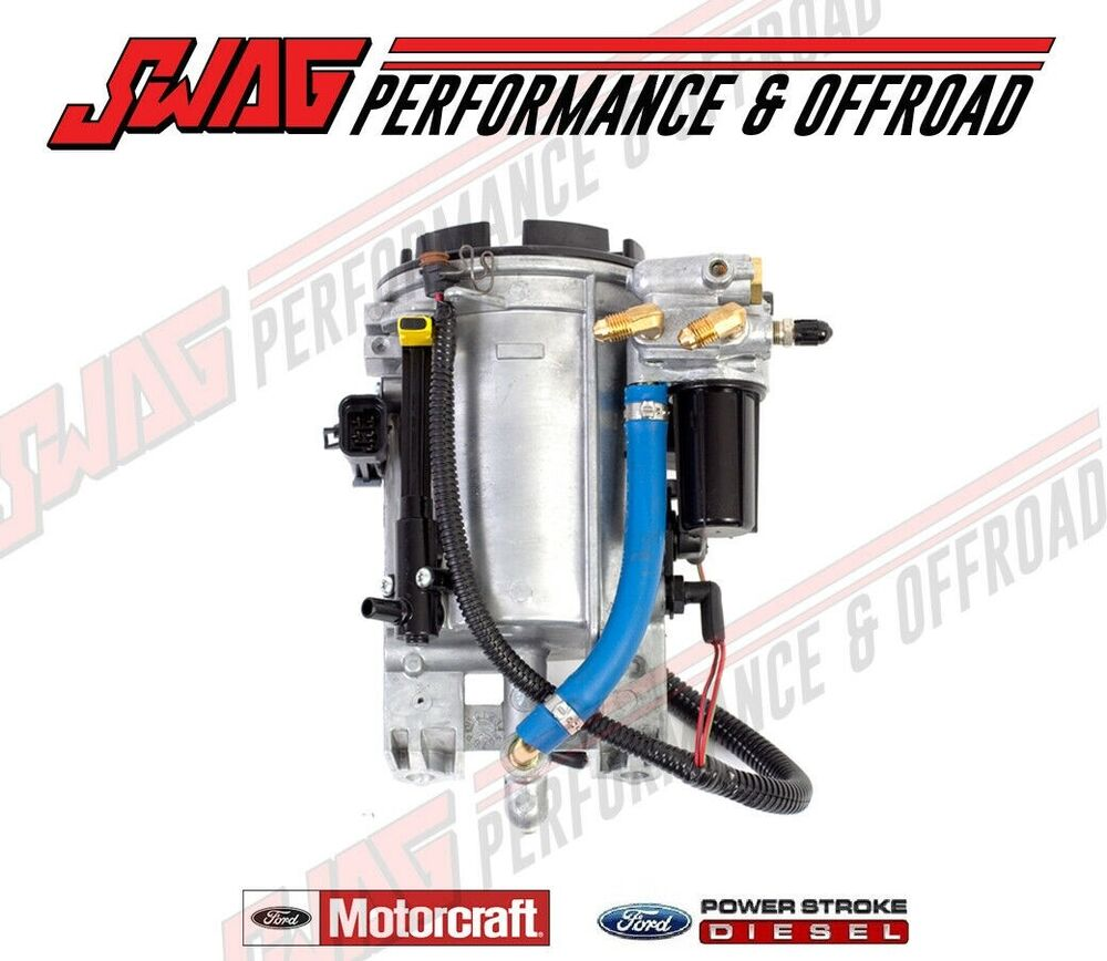 7 3 fuel filter housing 7 3l fuel filter housing diagram 94-95 ford 7.3l powerstroke diesel genuine motorcraft oem ...