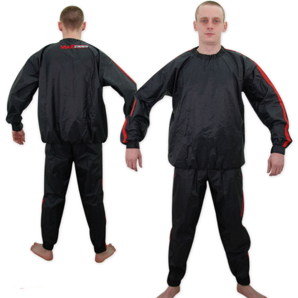 Fight Sauna Sweat Track Suit Gym Fitness Slimming Weight
