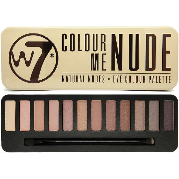 W7 Makeup Make Up Eye Shadow Palette Naked Nude Natural Colours - Colour Me Nude -9371