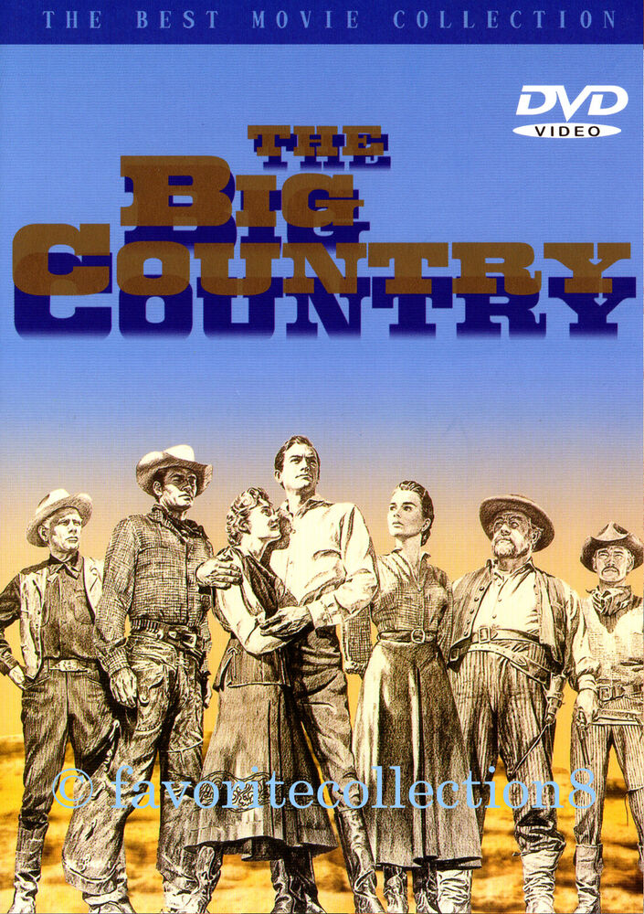The Big Country (1958) - Gregory Peck, Jean Simmons - DVD ...