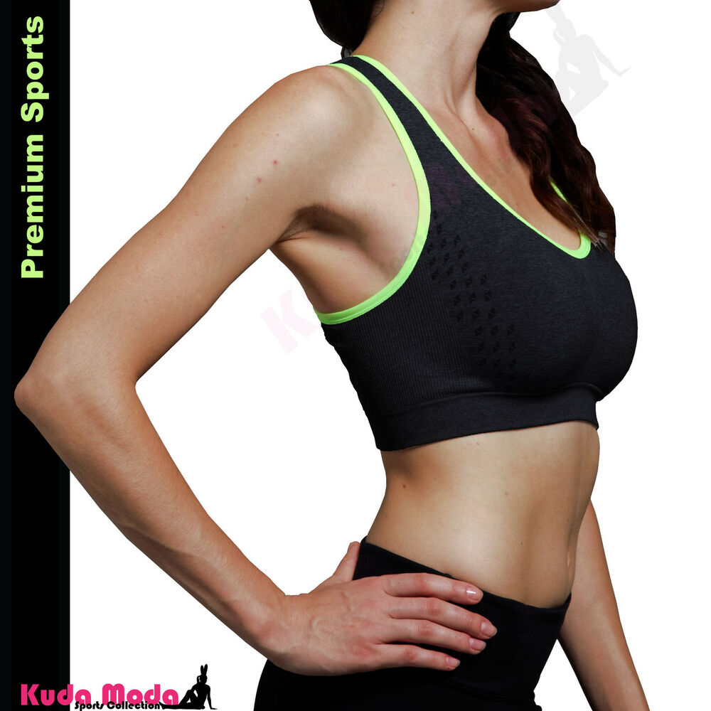 318bac6602cfb6 Details about Homma Pro Sexy Racerback Tank Top Athletic Wire Free Sports  Fitness Running Bra