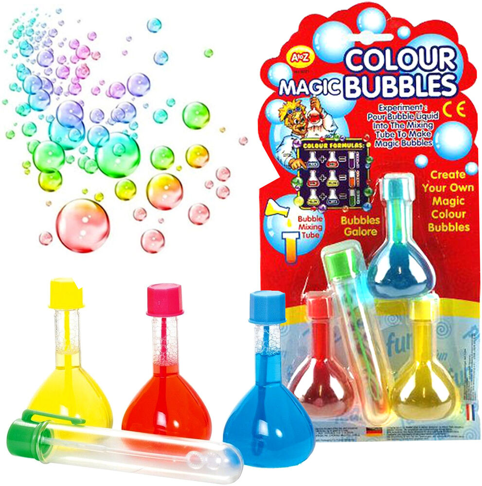 Toys For Girls 9 12 From Smith S : Magic rainbow bubbles boys girls gift bubble mix toy