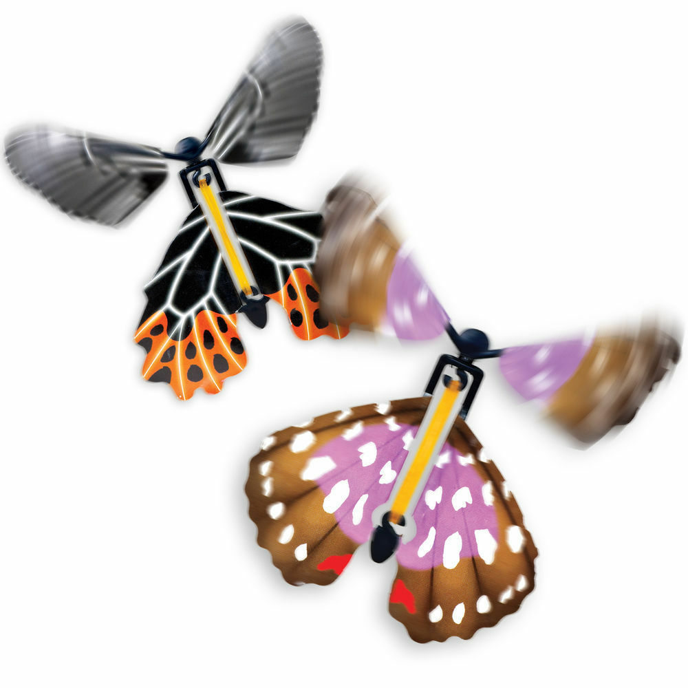 Flying Toys For Boys : Butterfly paper flying fluttering toy girls boys xmas